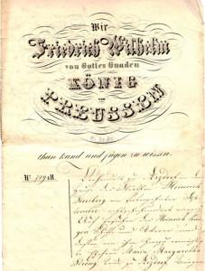 Arzdorfer Gerichtsurkunde von 1790