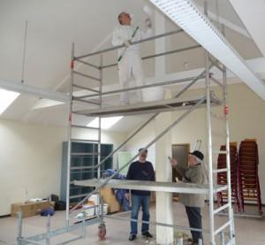 Renovierung Lehrer-Welsch-Saal